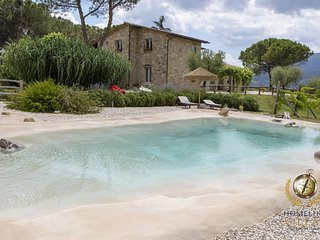 A Villa with eco-friendly swimming pool