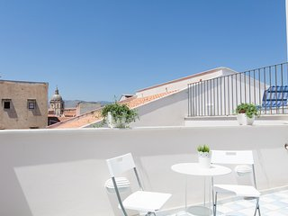Loft with 2 Magic terraces in the city center