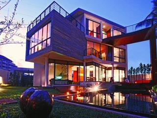 Luxury Designer 3 Bedroom Private Pool Villa in Golf Course