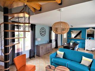 'La Jongleuse' maison à 5 min de Dieppe, entre mer et forêt...