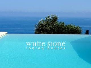 White Stone Ionian Houses
