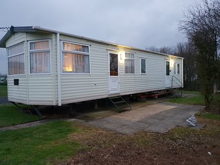 2 bed static caravan for hire at port haverigg marina village
