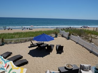 Direct Ocean Front Home, beautifully furnished. Step right out into the sand!