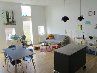 Spacious and family friendly penthouse apartment in Copenhagen