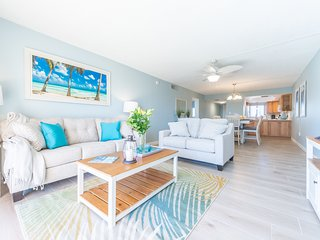 Brand New Bright and Beachy Direct Oceanfront Condo - Next to the Pier!