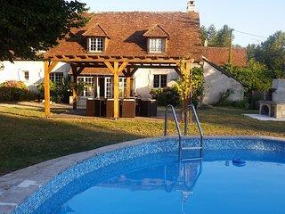 Longere de charme avec piscine proche Zoo de Beauval