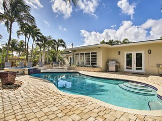 Modern Ft Lauderdale Home w/Saltwater Pool & Patio