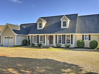 NEW! Carolina Lakes Home w/Pool & Dock in Sanford!