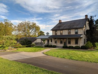 NEW! Spring Haven Farm, restored 1800s farmhouse on 82 acres in Lancaster County