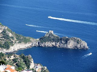 incantevole villino in costa d'amalfi vista mare