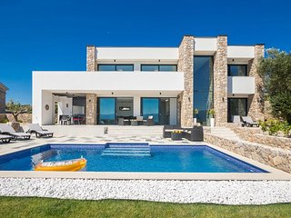 Modern Panorama Seaview VILLA SUZAN With Private Pool