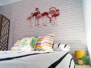 Tropico. Refrescante y colorido estudio en Benalmadena Costa.