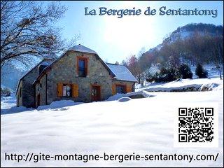 Chalet gîte de montagne au coeur des Hautes-Pyrénées dans le Val d'Azun