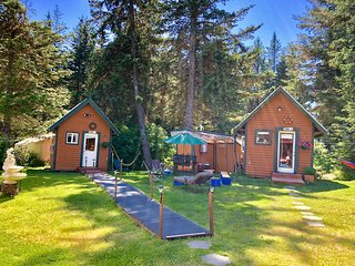 Enjoy our Dry Cabins in Homer, Alaska