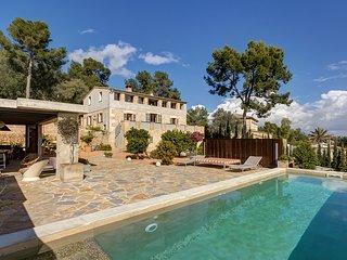 Villa rústica diseño exclusivo a 10 minutos de Palma, AC, wi-fi, private pool