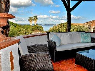 Villa Rosè 10 posti letto vista mare