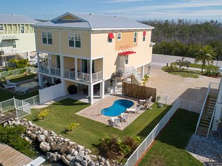 SPRING DEALS at Relax Away- SOMBRERO BEACH- NEW 4BDRM W/ 40FT DOCK &  POOL
