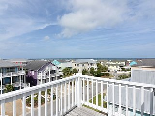 Summer Winds -  Nicely appointed ocean view home with community beach access