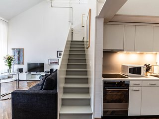 ZR Zurich Relocation - Maisonette Loft - Muhle