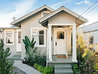 Charming Craftsman Bungalow - Close to Beach, 1 Mile to Funk Zone