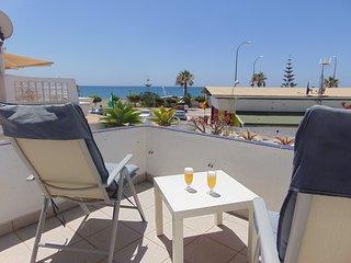 Wonderful rental on a sandy beach
