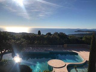 Studio Pool House Vue Mer a 180° - Golfe de Saint-Tropez -Wifi -la Croix Valmer