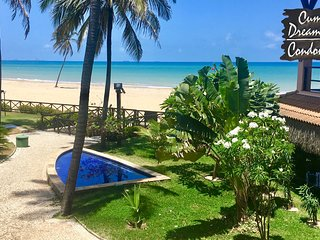 I102/  Dream Beach Oceanfront , luxury 3 suites -180 qm Apartment