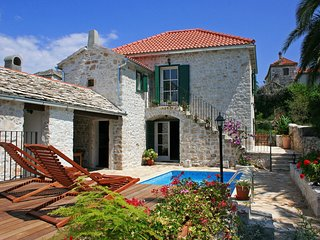 Villa Margot Wonderfully renovated rustic stone villa minutes from a beach