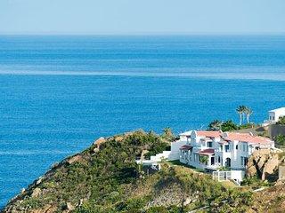 VILLA AMALIA... Spectacular cliffside villa overlooking Guana Bay, modern, elega