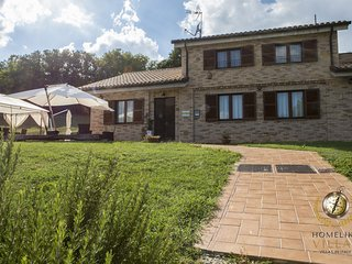 A Villa in the heart of the Marche region