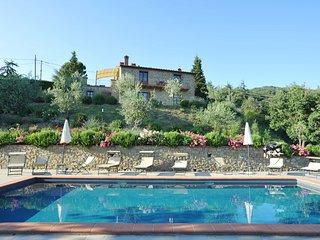 Villa Antonella, wonderful view on lake Trasimeno