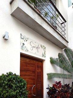 Eingang Casa Sansofé