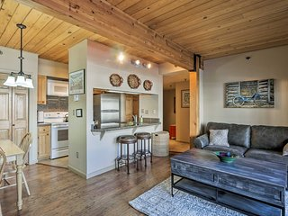NEW! Cozy Crested Butte Condo - Walk to Ski Lift!