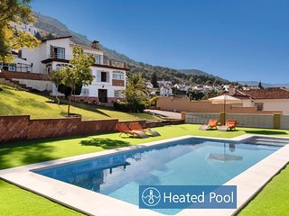 Villa with heated and private pool, near beach and golf! , ¡¡Relax garantizado!!