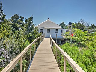 NEW! Cape Charles Cottage - On Private Island!