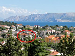 Two bedroom apartment Selce, Crikvenica (A-5481-f)