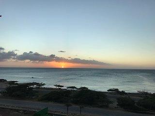 Aruba Azure Luxury Beach Ocean front condo steps away from Eagle and Palm beach