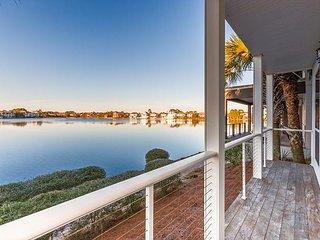 Steps to the Beach! Lake-View 2-Unit Villa w/ Pool & Abundant Outdoor Space