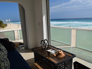 BEACH FRONT BEAUTIFUL APARTMENT, NEW LISTING, CHECK OUR LOW RATES.