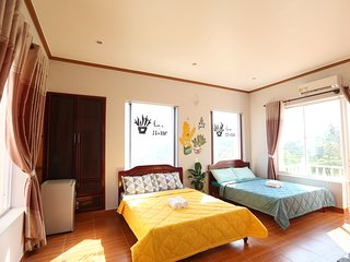 the Happy RIde 2 homestay - Cactus room