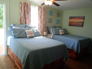 The Vieques Guesthouse - Room #3 - Double Room with Balcony, Partial Sea View