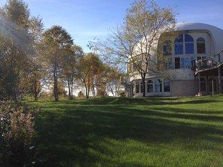Dome Home on Lake Michigan