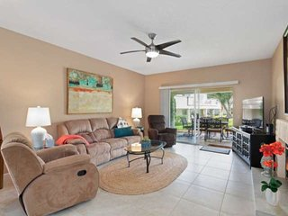 Updated Desert Falls Condo! Community Pool, Close to Hiking/ Biking Trails - Bac