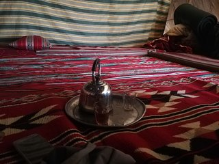 bedouin footsteps #1 tented camp