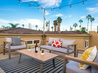 Modern 3BR/3BA PB Home w/ Rooftop by Domio