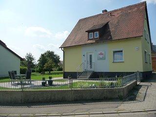 FrankenFeWo-Einhorn bei Rothenburg ob der Tauber