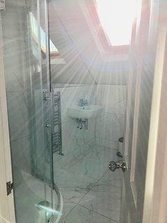 Shower room to second floor