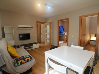 Ideal con ninos a 30 mts de la playa con wifi y smart tv