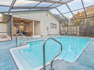 St. Augustine Home w/ Pool & Lanai, Mins to Beach!