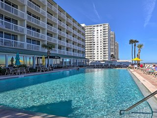 Oceanfront Daytona Beach Condo w/ Resort Amenities
